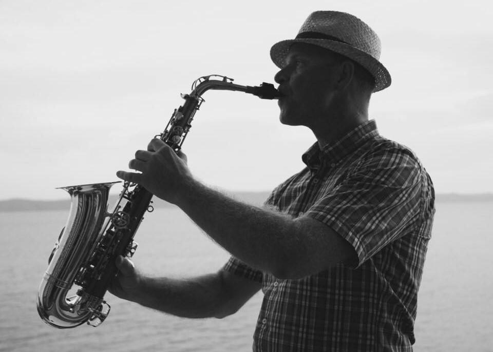 Saxofonista - na svatbu