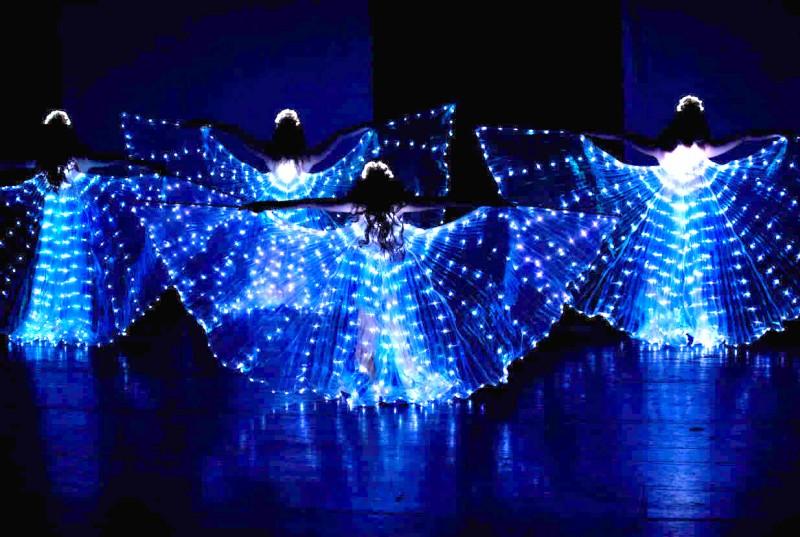 Světelná taneční show