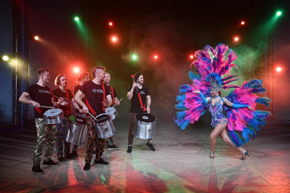 Bubenická světelná show